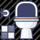 bathroom, plunger, toilet, wc icon