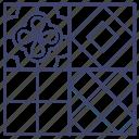ceramic, floor, interior, tiles icon