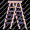 ladder, ladders, stepladder, tools