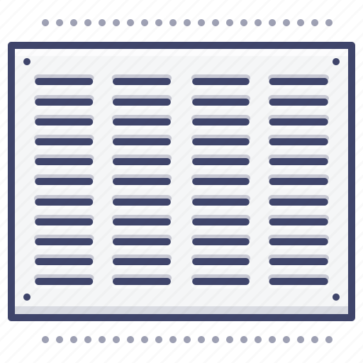 Air Interior Louver Vent Icon Download On Iconfinder