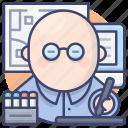 artist, avatar, designer, graphic icon