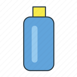 bottle, interior, liquid, mixture, potion, science icon