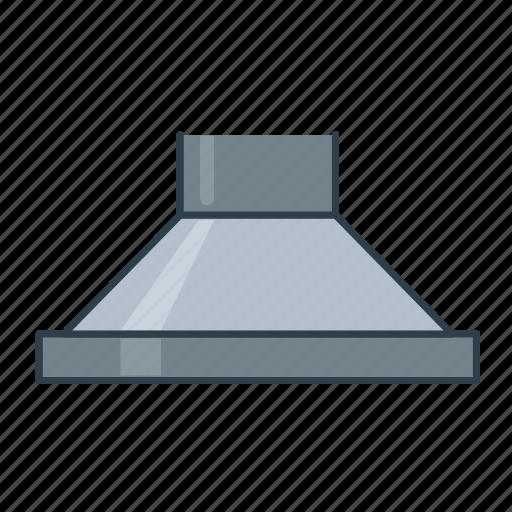 chimney, interior, kitchen, kitchen cabinets, kitchen hood icon