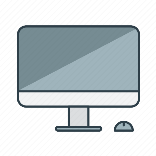 computer, desktop, device, imac, interior, monitor, screen icon