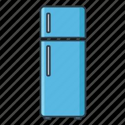 freezer, fridge, interior, kitchen, refrigerator icon