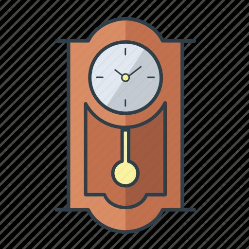 clock, decoration, home, household, interior, retro, wall icon