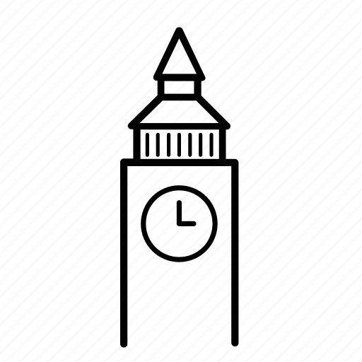 ben, big, clock, london, time, tower icon