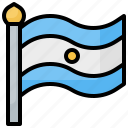 argentina, country, flag, flags, world