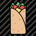 international, food, burrito