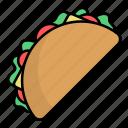 international, food, taco