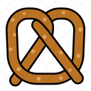international, food, pretzel
