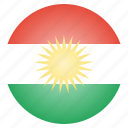 country, european, flag, kurdish, kurdistan, national, region
