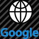 earth, globe, google, internet, online, seo, web icon