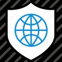 internet, online, safe, secured, seo, web icon