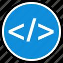 developer, internet, online, seo, web icon