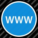 internet, online, seo, web, wide, world icon