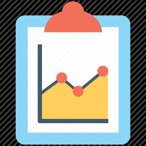 analytics, clipboard, graph report, report, statistics icon