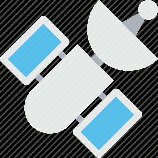 dish antenna, radar, satellite, space, technology icon