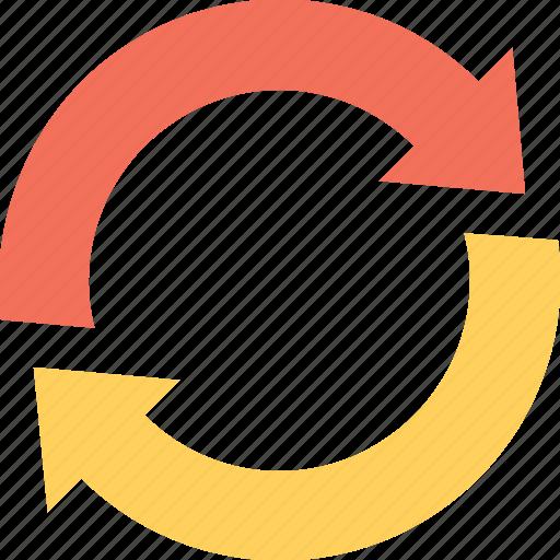 arrows, loading, refresh, sync, synchronization icon