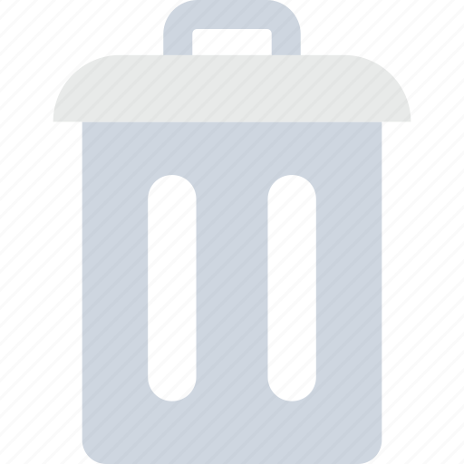 delete, dustbin, garbage, recycling, trash can icon