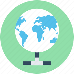 global communication, globe, internet, internet server, internet share icon