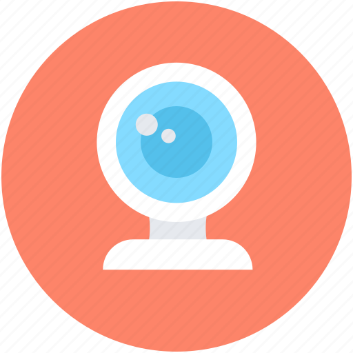 computer camera, live chat, video chatting, web camera, webcam icon