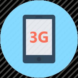 mobile data, mobile internet, smartphone icon