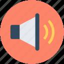 loudspeaker, sound, speaker, voice, volume