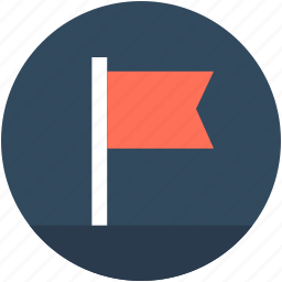 destination flag, ensign, flag, insignia, location flag icon