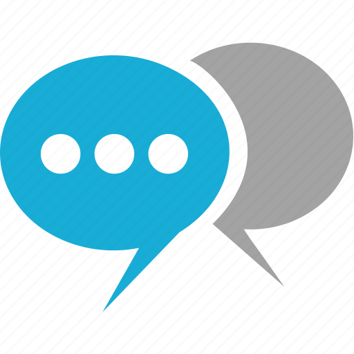 dialogue, discussion, message, speak icon