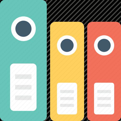 archives, documents, file folders, files rack, folders icon