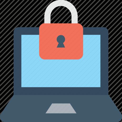 access, encryption, laptop, laptop security, lock icon