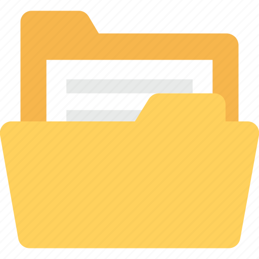 archives, documents, file folder, file storage, folder icon
