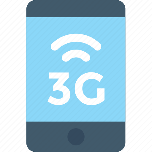 mobile data, mobile internet, smartphone, three g, three g network icon