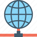 globe, hosting, internet, internet server, networking icon