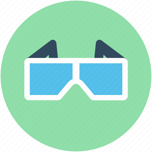 3d glasses, eyewear, glasses, stereo glasses, stereoscopic glasses icon