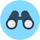 binocular, field glass, monocular, spyglass, telescope icon
