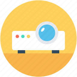 electronics, movie projector, multimedia, projector, video projector icon