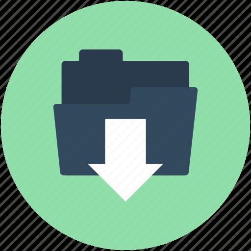 data storage, download file, downloading tray, folder downloading, save folder icon