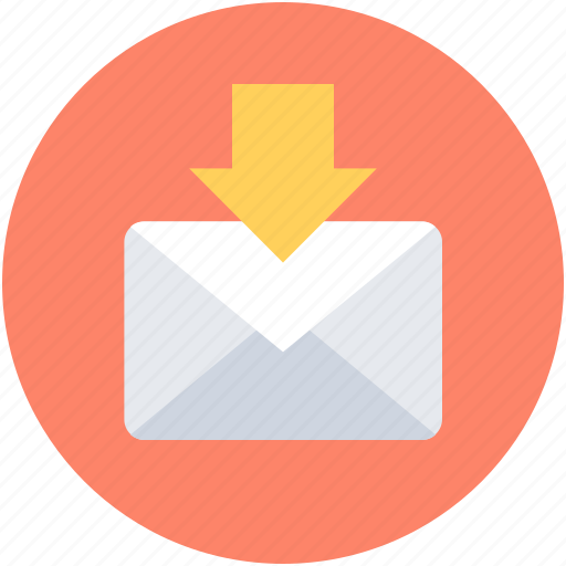 File storage, inbox, incoming mail, mailbox, new email icon - Download on Iconfinder