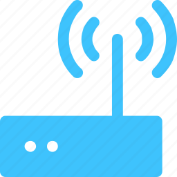connection, lan, router icon