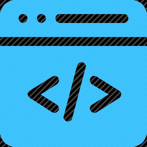 code, coding, computer icon