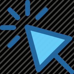 click, cursor, pointer icon