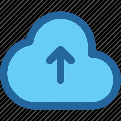 cloud, send, upload icon