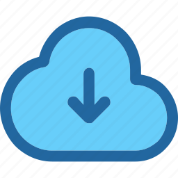 cloud, download, transfer icon