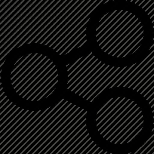 internet, publish, share icon
