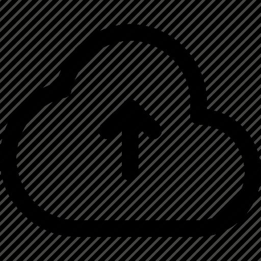 Cloud, send, upload icon - Download on Iconfinder