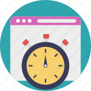 speed performance indicator, web page test, website load test, website speed optimization, website speed test icon