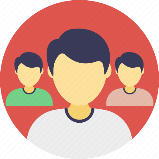 colleagues, group, people, social media, staff icon
