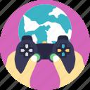 games through internet, modern gaming platform, online games, online gaming, online video games icon